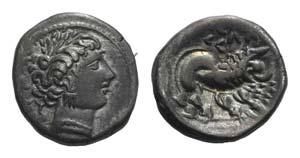 Gaul, Southern. Insubres, 2nd century BC. AR ...