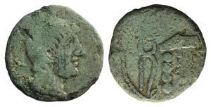 Etruria, Populonia, late 3rd century BC. Æ ...