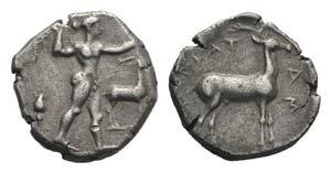 Bruttium, Kaulonia, c. 475-470 BC. AR Stater ...