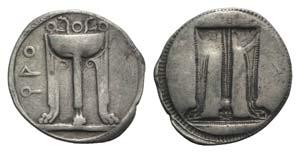 Bruttium, Kroton, c. 530-500 BC. AR Stater ...