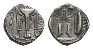 Bruttium, Kroton, c. 500-490 BC. AR Stater ...