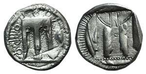 Bruttium, Kroton, c. 480-430 BC. AR Stater ...