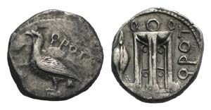 Bruttium, Kroton, c. 425-350 BC. AR Stater ...