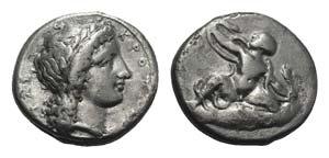 Bruttium, Kroton, c. 400-325 BC. AR Stater ...