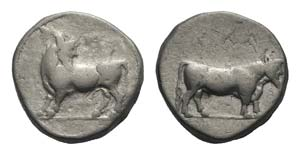 Bruttium, Laos, c. 480-460 BC. AR Stater ...