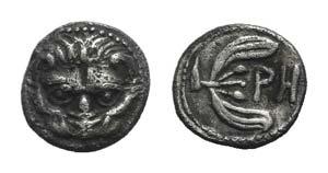 Bruttium, Rhegion, c. 415/0-387 BC. AR Litra ...