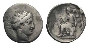 Bruttium Terina, c. 420-400 BC. AR Stater ...