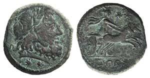 Southern Campania, Capua, c. 216-214 BC. Æ ...