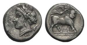 Southern Campania, Neapolis, c. 275-250 BC. ...