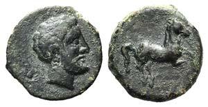 Sicily, Solus, c. 300-241 BC. Æ (13mm, ...