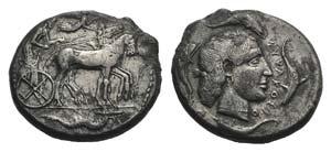 Sicily, Syracuse, 466-405 BC. AR Tetradrachm ...