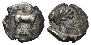 Sicily, Syracuse, c. 466-405 BC. AR ...
