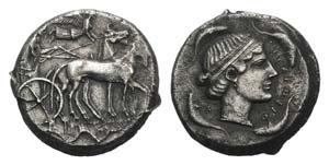 Sicily, Syracuse, 440-430 BC. AR Tetradrachm ...
