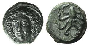 Sicily, Syracuse, c. 415-405 BC. Æ Tetras ...