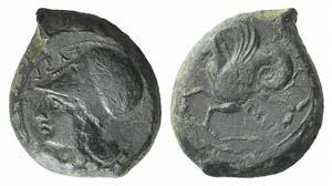 Sicily, Syracuse, 400-390 BC. Æ (21mm, ...