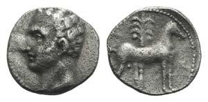 Punic Iberia, Carthago Nova, c. 237-209 BC. ...
