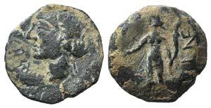 Iberia, Corduba, mid 2nd century BC. Æ ...