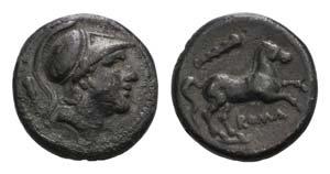 Club series, Rome, c. 230-226 BC. AR ...
