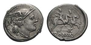 Caduceus series, Central Italy, 211-208 BC. ...