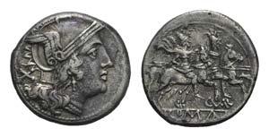 C. Varus, Sicily, c. 209-208 BC. AR Denarius ...