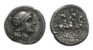H Series, South East Italy, c. 211-210. AR ...