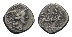 Matienus, Rome, 179-170 BC. AR Denarius ...