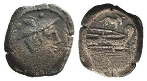 Ass series, Rome, 169-158 BC. Æ Sextans ...
