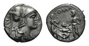 Ti. Veturius, Rome, 137 BC. AR Denarius ...
