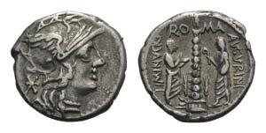 Ti. Minucius C.f. Augurinus, Rome, 134 BC. ...