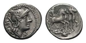 Q. Caecilius Metellus, Rome, 130 BC. AR ...