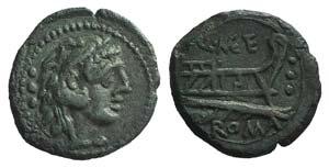 Q. Caecilius Metellus, Rome, 130 BC. Æ ...