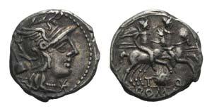 T. Quinctius Flamininus, Rome, 126 BC. AR ...