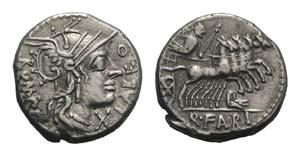 Q. Fabius Labeo, Rome, 124 BC. AR Denarius ...