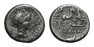 M. Cipius M.f., Rome, 115-114 BC. AR ...