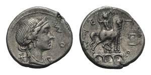 Man. Aemilius Lepidus, Rome, 114-113 BC. AR ...