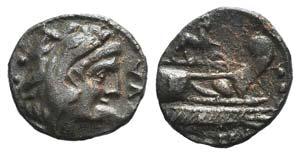 P. Licinius Nerva, Rome, 113-112 BC. Æ ...