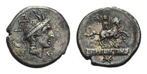 L. Philippus, Rome, 113-112 BC. AR Denarius ...