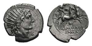 Man. Aquillius, Rome, 109-108 BC. AR ...