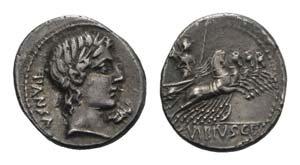 C. Vibius C.f. Pansa, Rome, 90 BC. AR ...