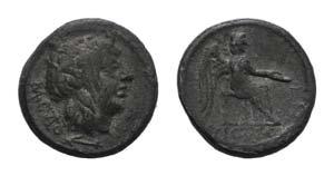 M. Cato, Rome, 89 BC. AR Quinarius (13mm, ...