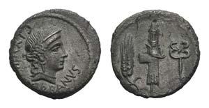 C. Norbanus, Rome, 83 BC. AR Denarius ...