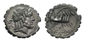 Q. Antonius Balbus, Rome, 83-82 BC. AR ...