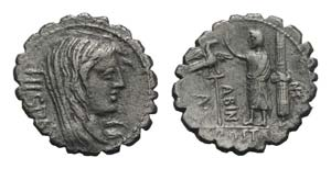 A. Postumius A.f. Sp.n. Albinus, Rome, 81 ...