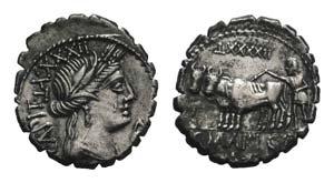 C. Marius C.f. Capito, Rome, 81 BC. AR ...