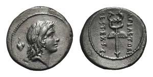 M. Plaetorius M.f. Cestianus, Rome, 69 BC. ...