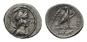 M. Plaetorius M.f. Cestianus, Rome, 57 BC. ...