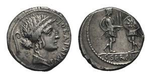 C. Servilius C.f., Rome, 53 BC. AR Denarius ...
