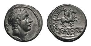 L. Marcius Philippus, Rome, 57 BC. AR ...
