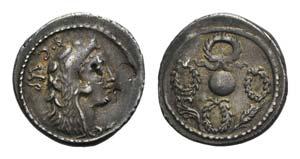 Faustus Cornelius Sulla, Rome, 56 BC. AR ...