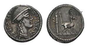 Cn. Plancius, Rome, 55 BC. AR Denarius ...